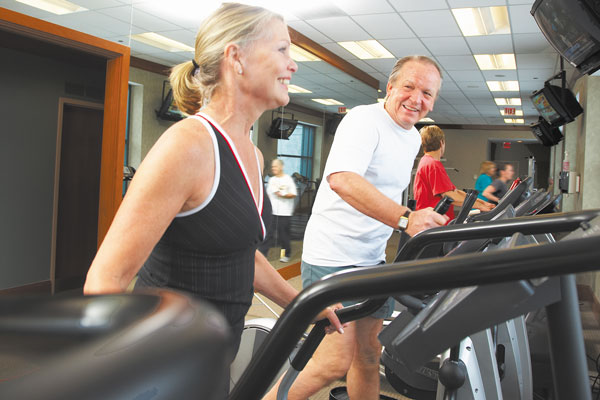 couple exercising financial incentives