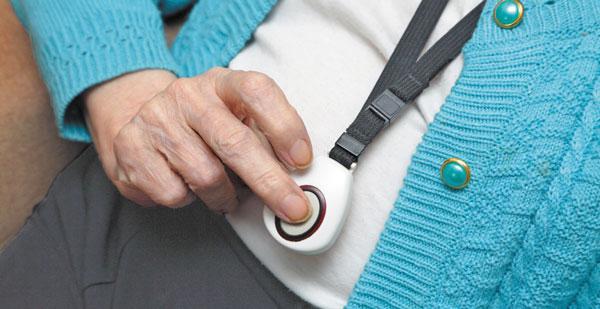wearable medical alert system