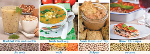 Plant-based diet: Nuts, seeds, and legumes can help get you