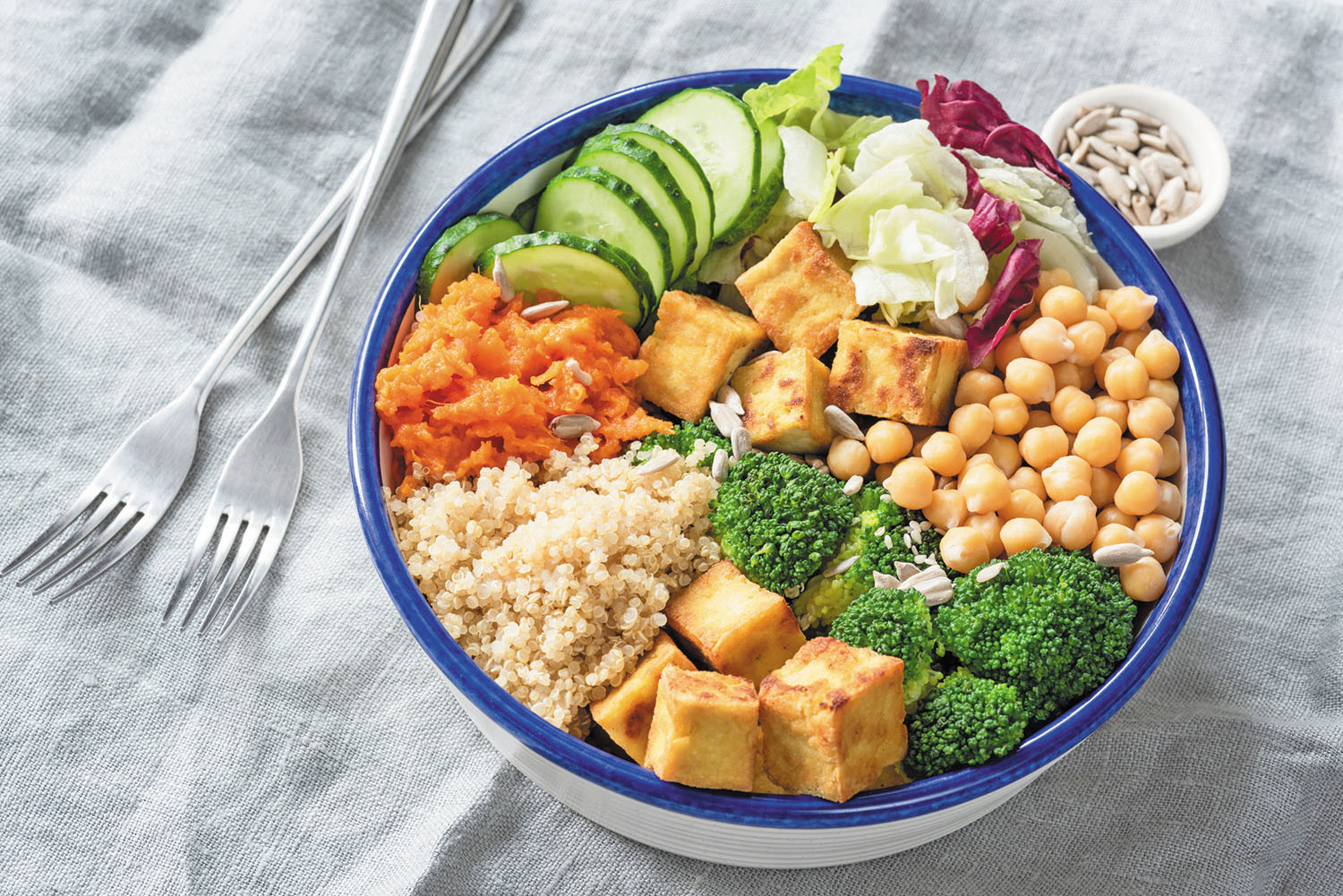 Eat more plant-based proteins to boost longevity - Harvard Health