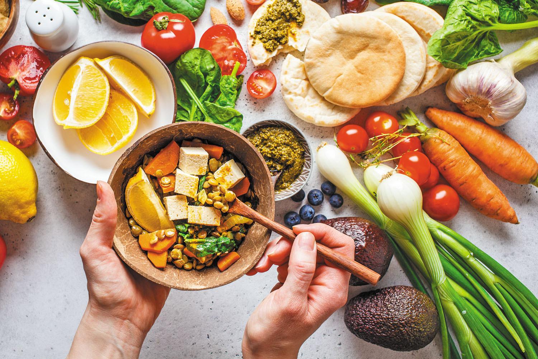 can a vegan diet protein again melanoma?