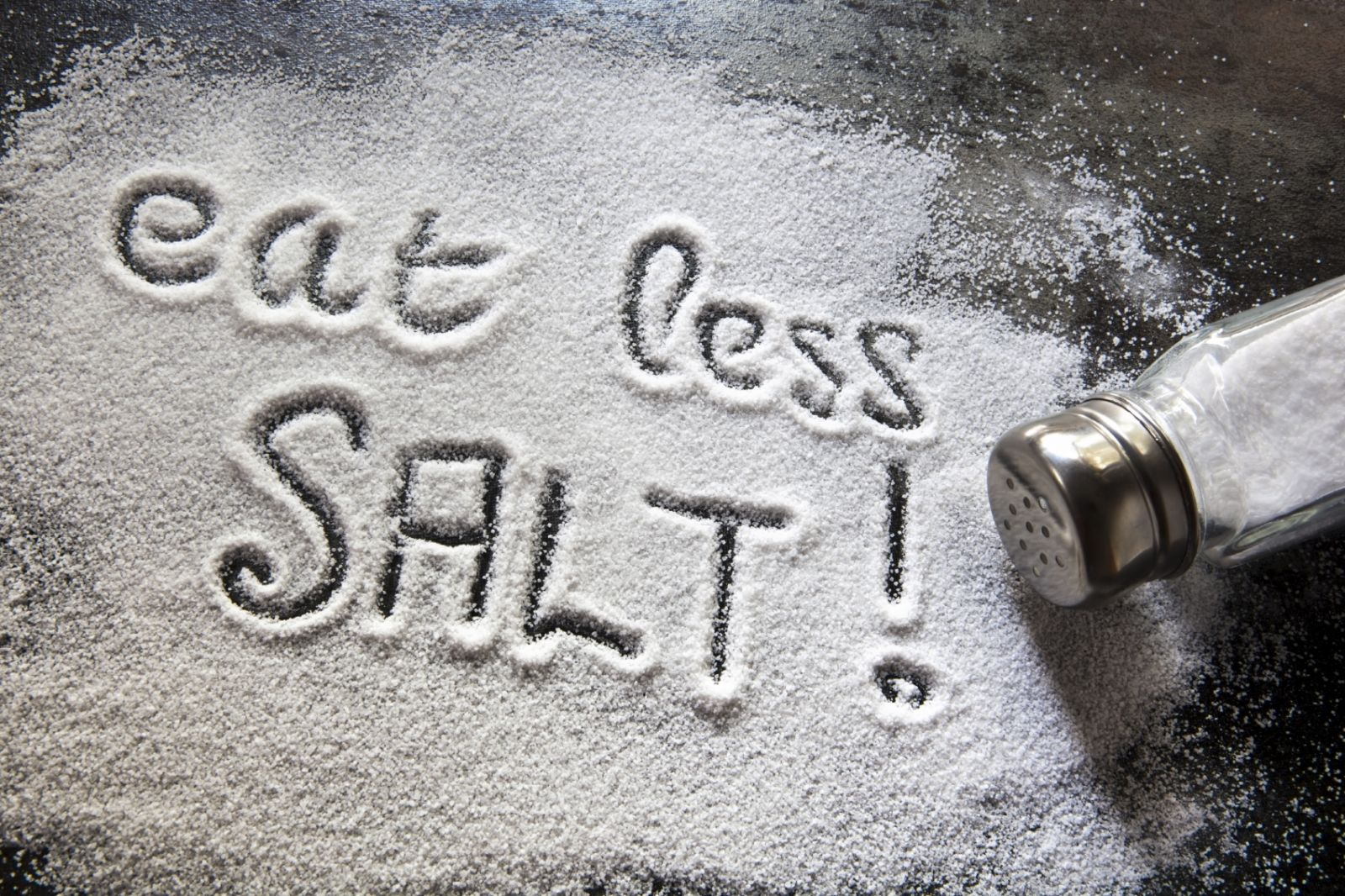 use less salt