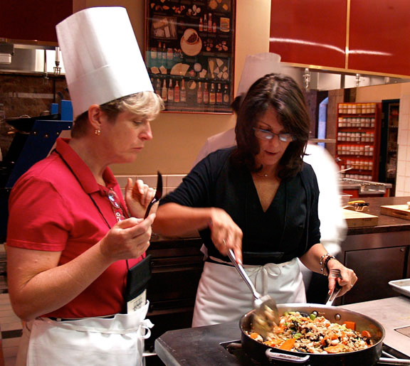Putting clinicians in the kitchen could help spread the healthy