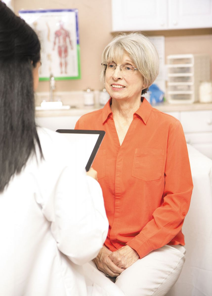 Postmenopausal bleeding: Don't worry — but do call your