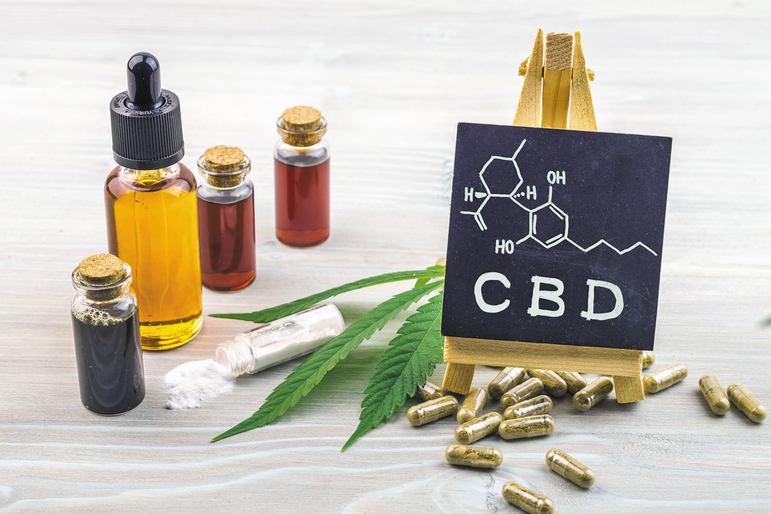 Types of CBD Supplements