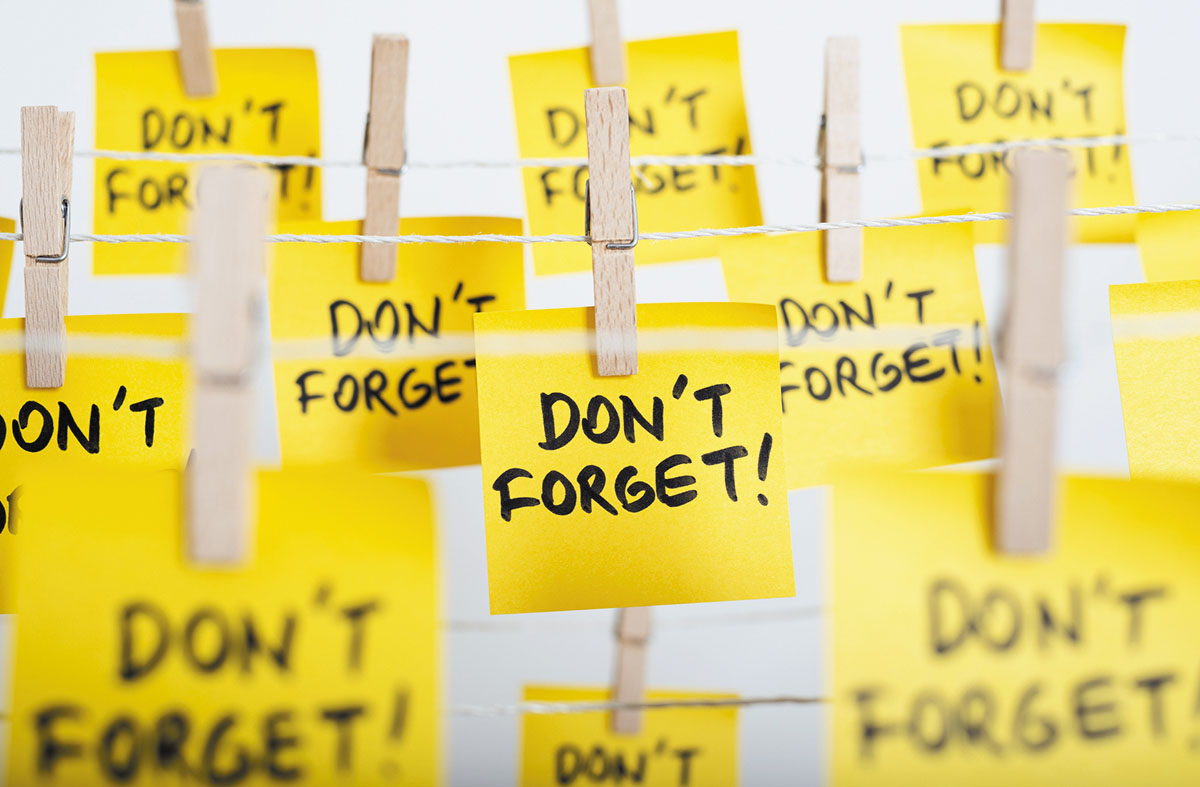 Tips to remember - Harvard Health