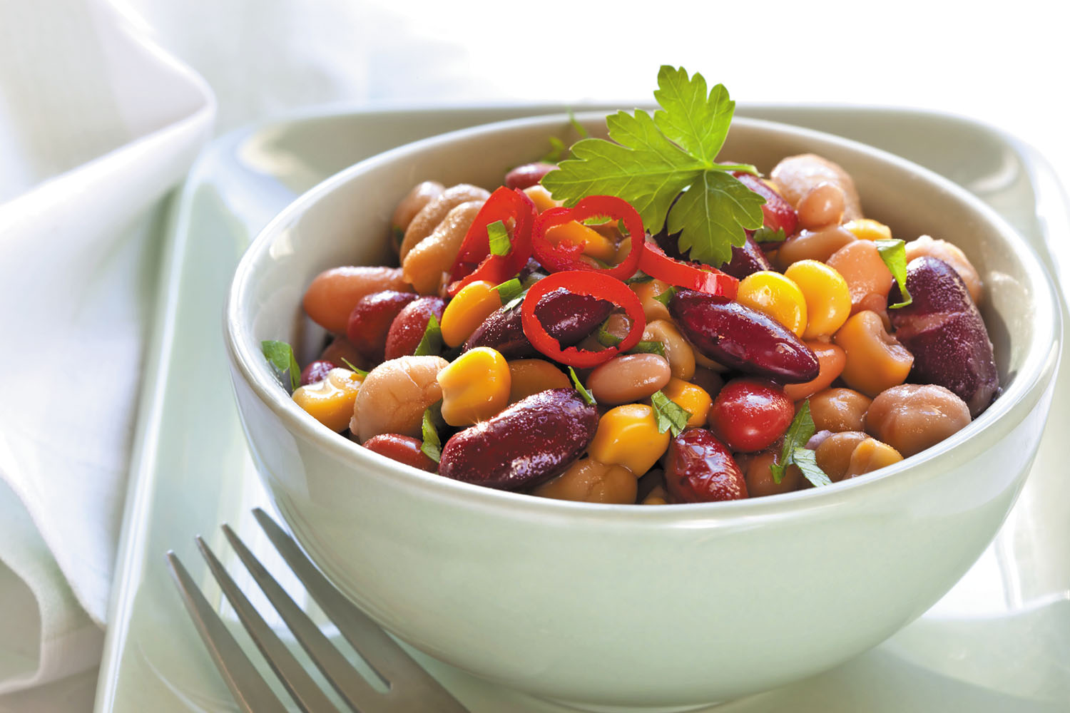 To lower heart disease risk, swap beef for beans