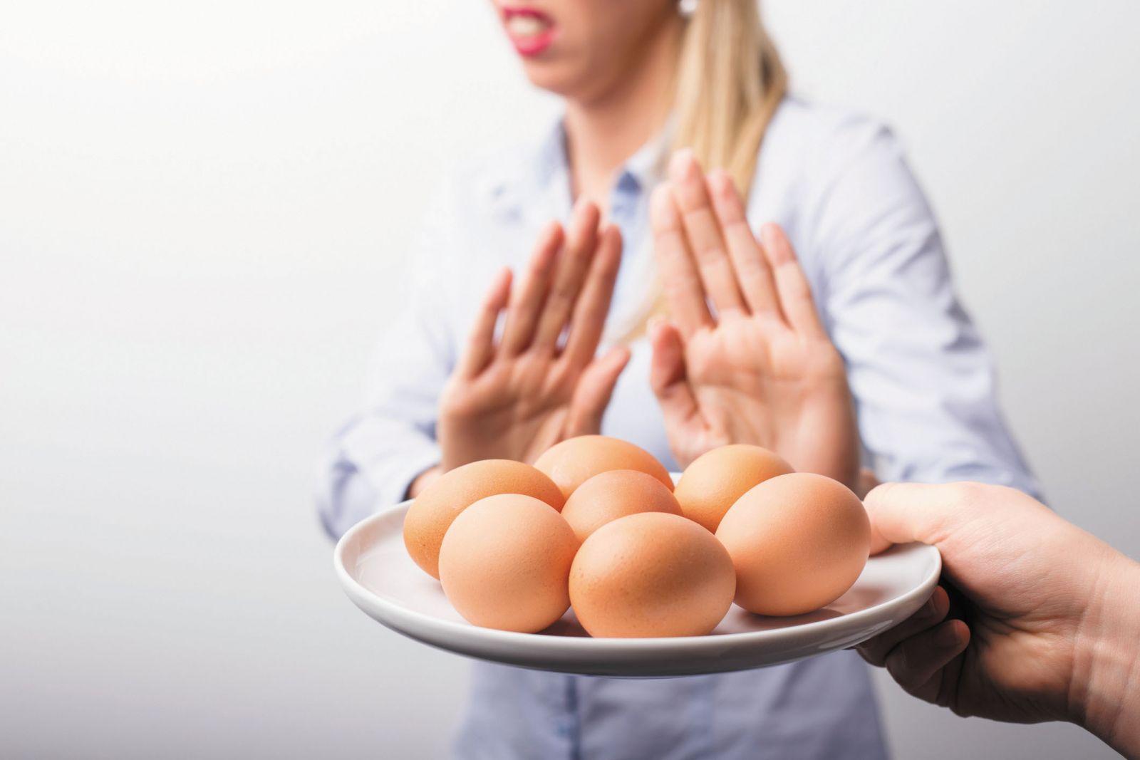 egg intolerance