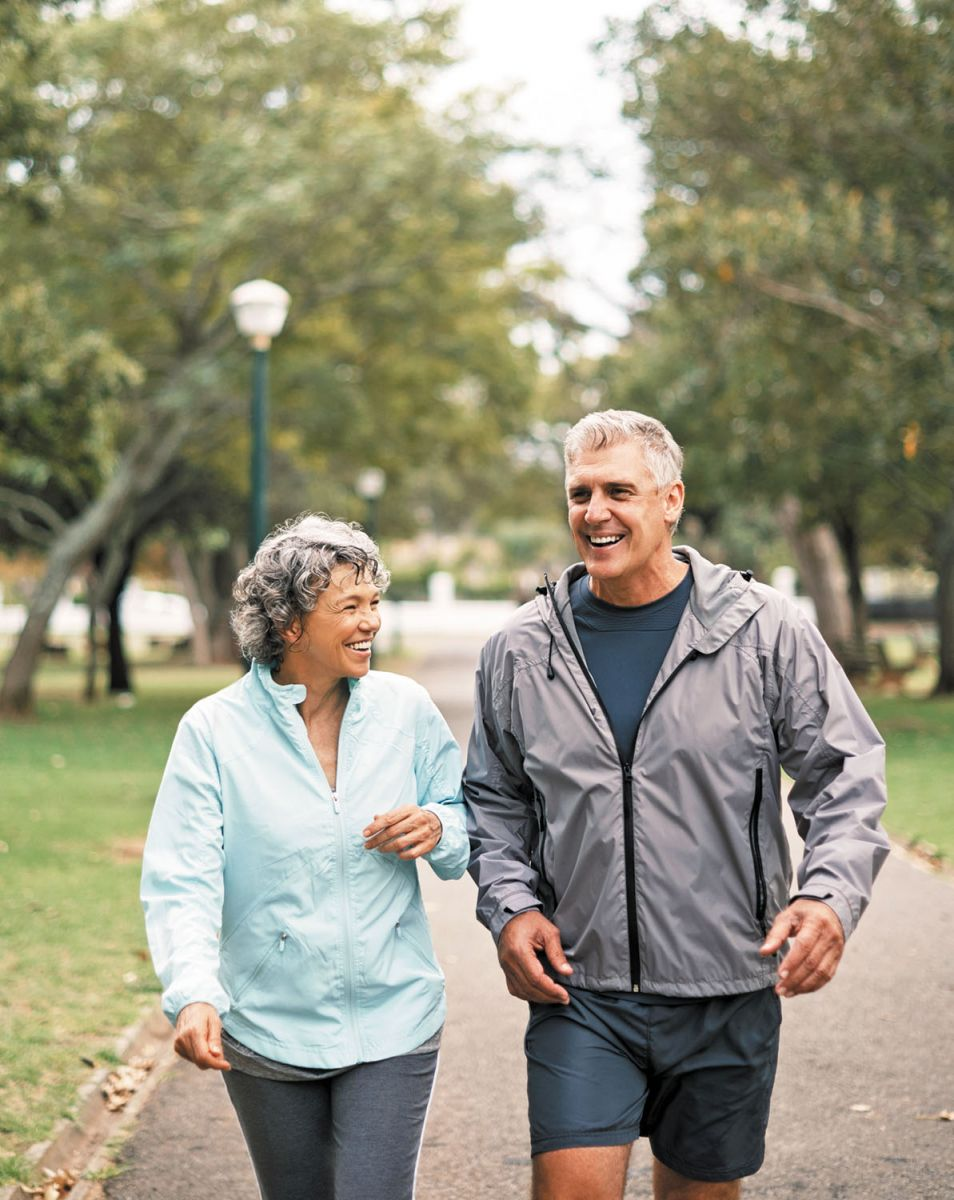 Walk your way to more flexible arteries?