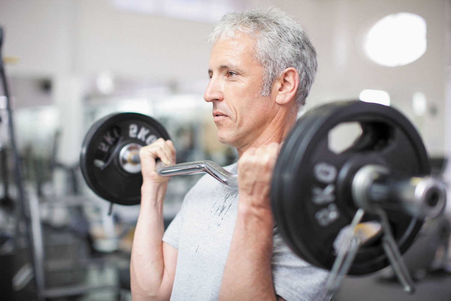 Weight training helps maintain muscle mass in overweight ...