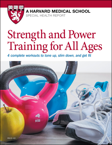 Strength and Power Training for All Ages Cover
