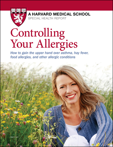 Controlling Your Allergies  Cover