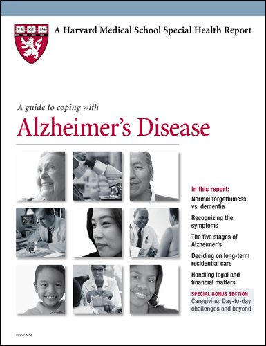 A Guide to Coping with Alzheimer's Disease Cover