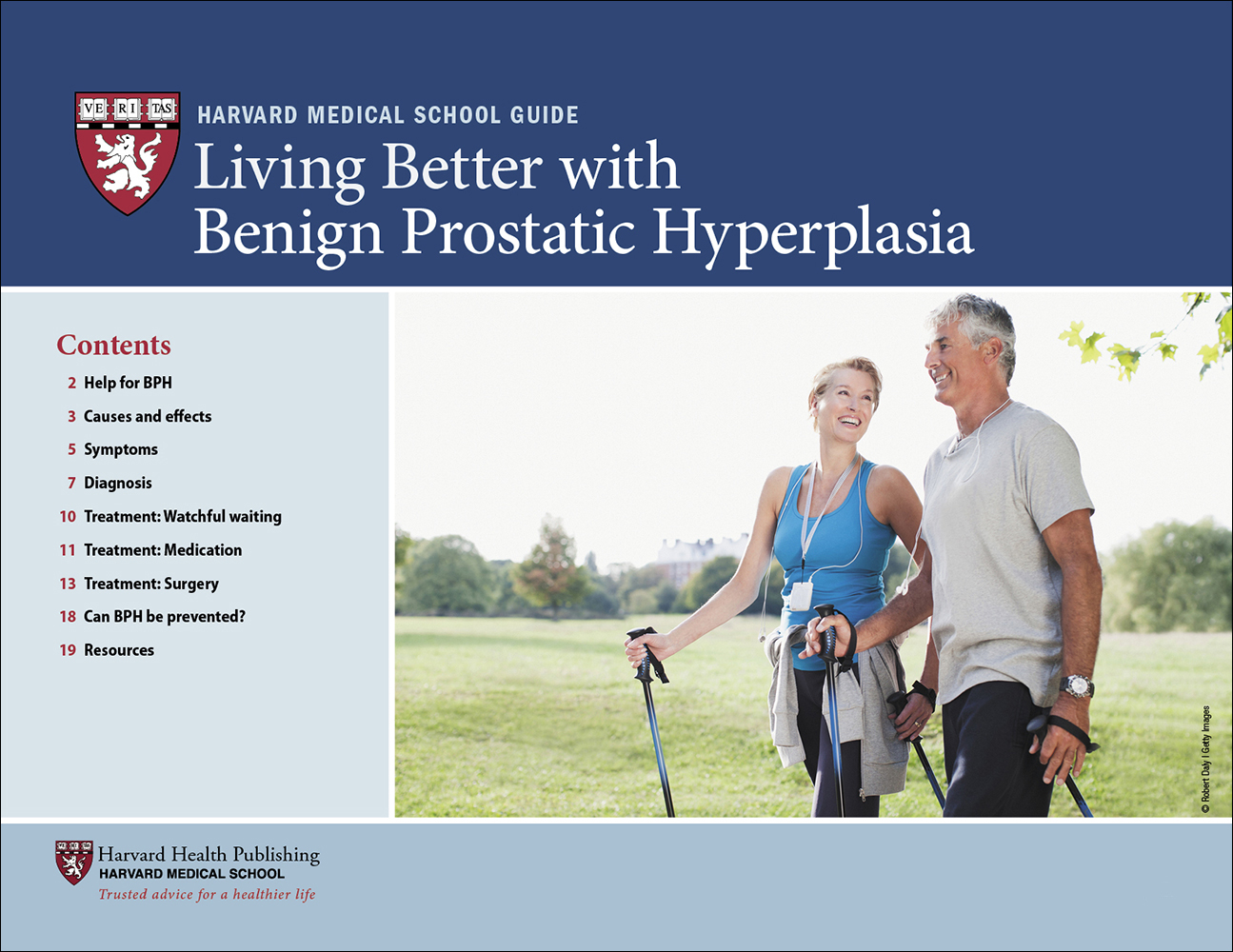 Living Better with Benign Prostatic Hyperplasia Cover