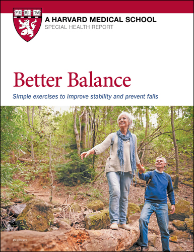Better Balance: Simple exercises to improve stability and prevent falls Cover