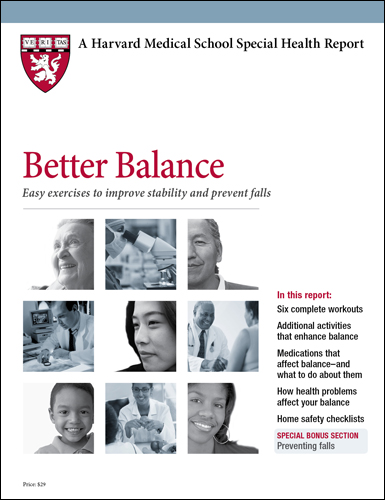 Better Balance: Easy exercises to improve stability and prevent falls Cover