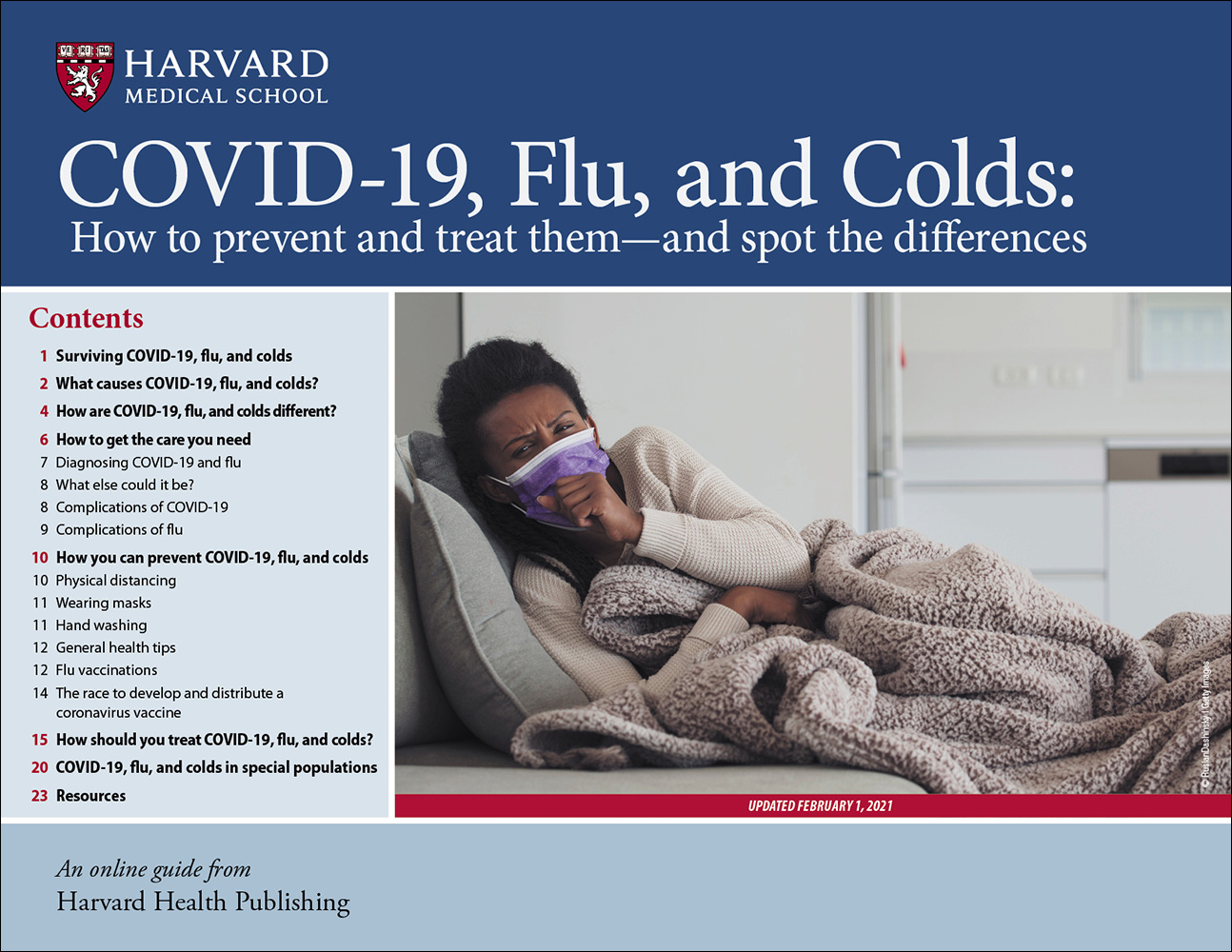 COVID-19, Flu, and Colds Cover