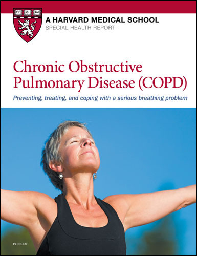 COPD: Preventing, treating, and coping with a serious breathing problem Cover