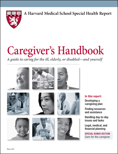 Caregiver's Handbook: A guide to caring for the ill, elderly, disabled ... and yourself Cover