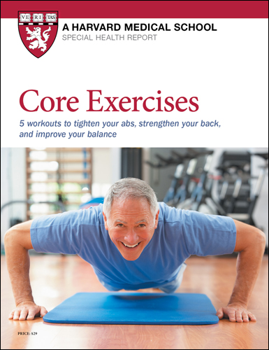 Core Exercises: 5 workouts to tighten your abs, strengthen your back, and improve balance Cover