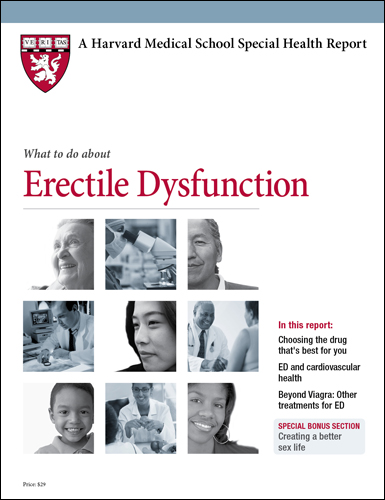 What to do about Erectile Dysfunction