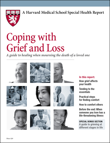 Coping with Grief and Loss: A guide to healing Cover