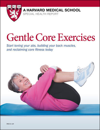Gentle Core Exercises: Start toning your abs, building your back muscles, and reclaiming core fitness today Cover