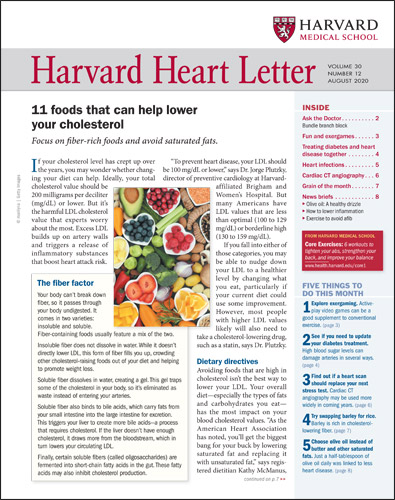 Harvard Heart Letter Cover