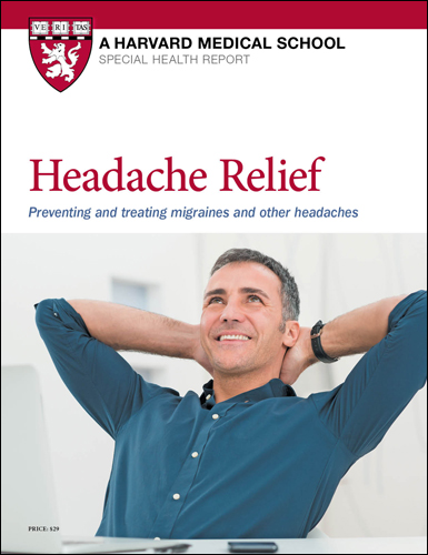Headache Relief: Preventing and treating migraines and other headaches Cover