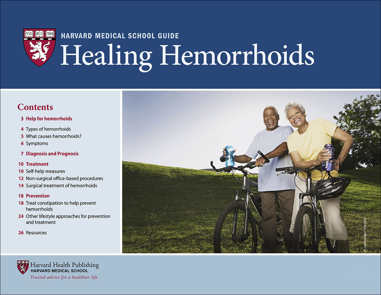 Healing Hemorrhoids Cover