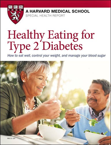 Healthy Eating for Type 2 Diabetes Cover
