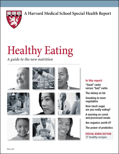 Healthy Eating: A guide to the new nutrition Cover