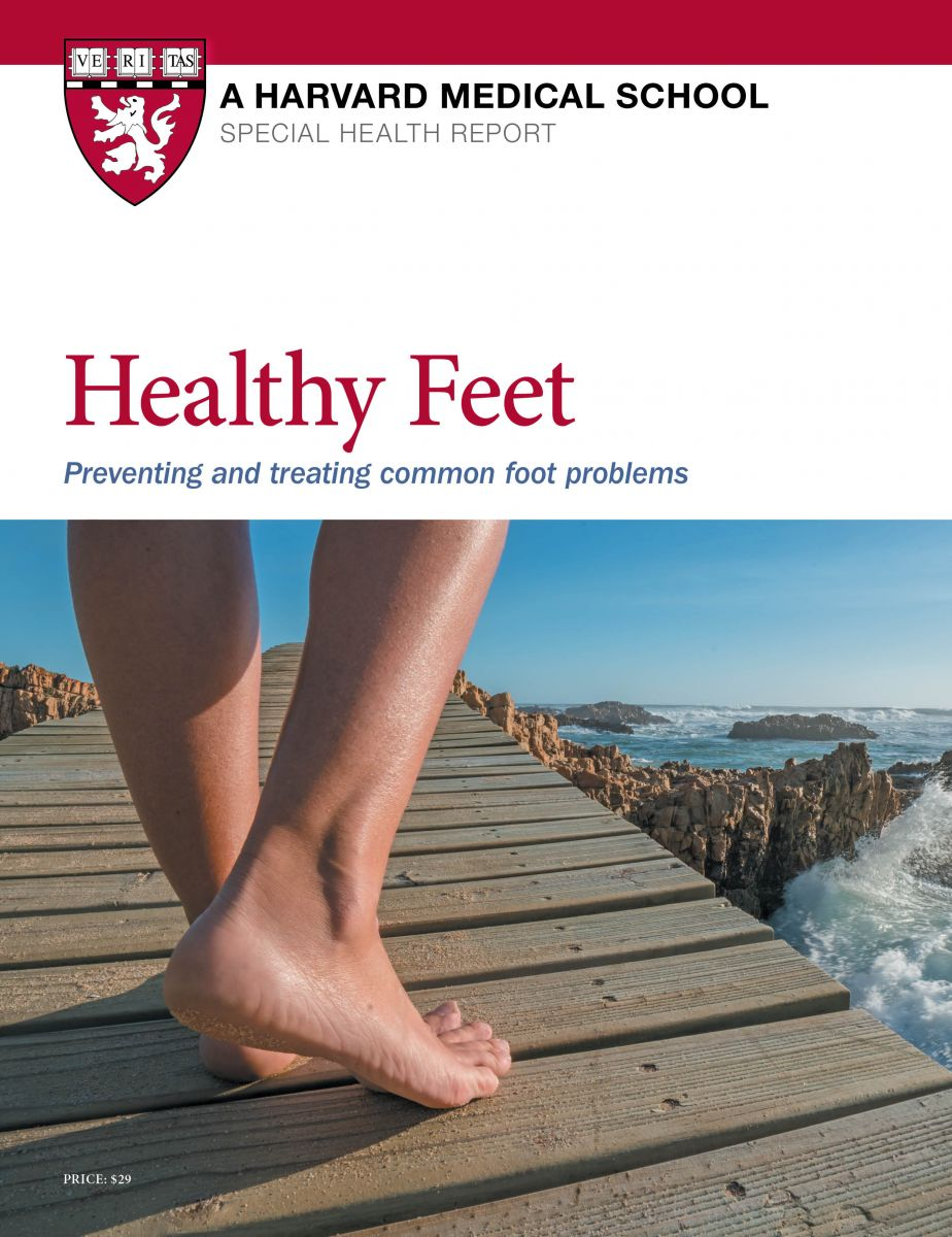 Healthy Feet: Preventing and treating common foot problems Cover