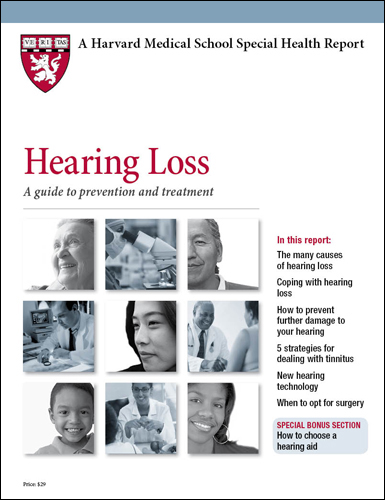 Hearing Loss: A guide to prevention and treatment Cover