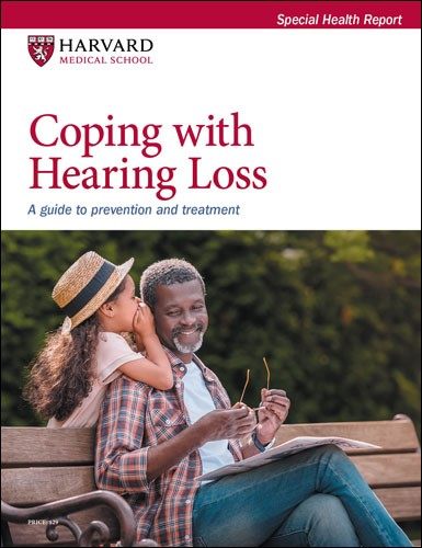 Coping with Hearing Loss: A guide to prevention and treatment Cover