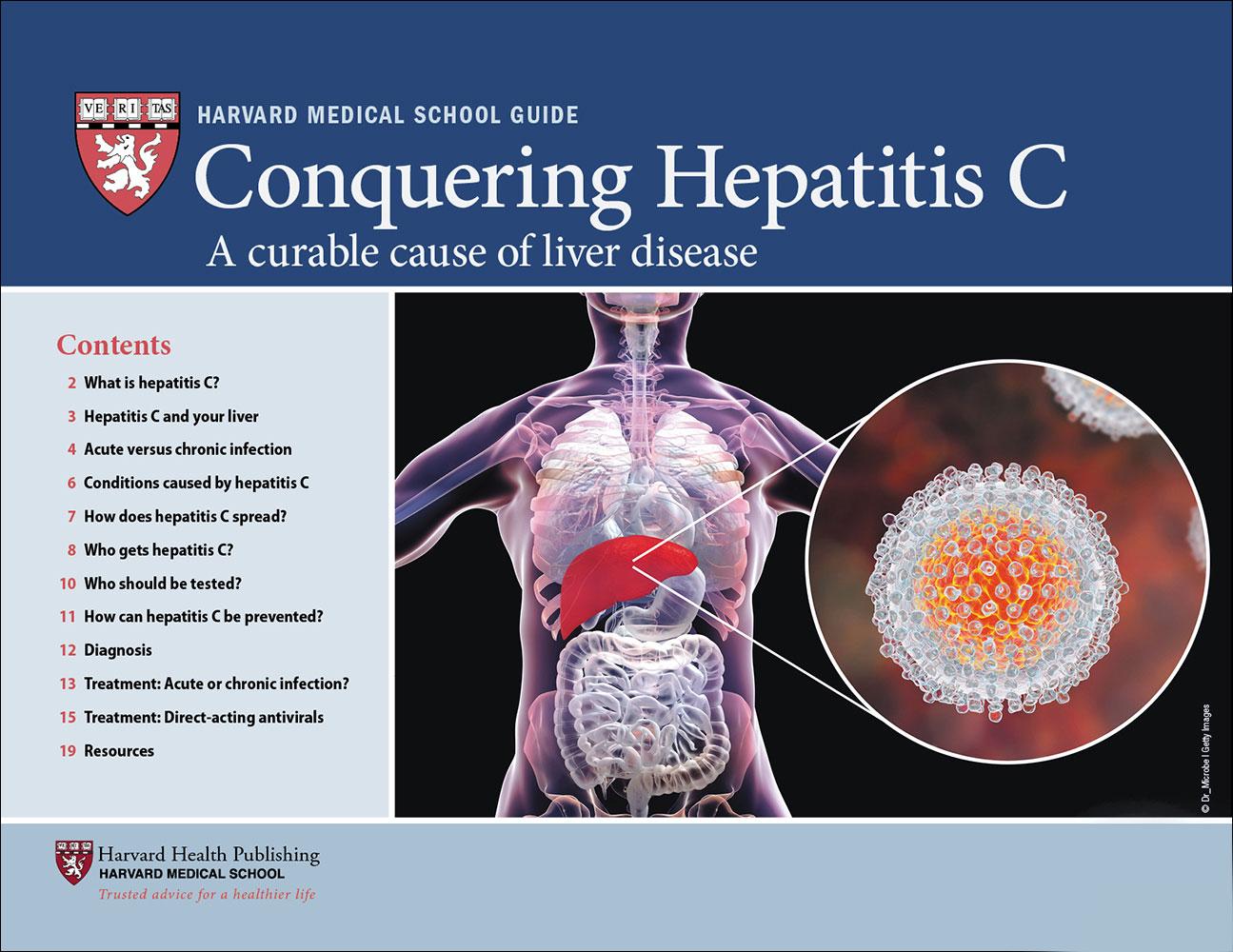 Conquering Hepatitis C Cover