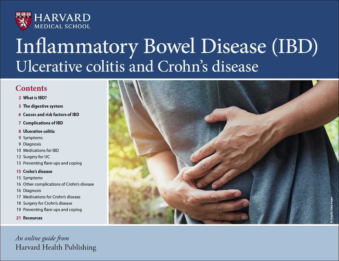 IBD: Ulcerative colitis and Crohn's disease Cover