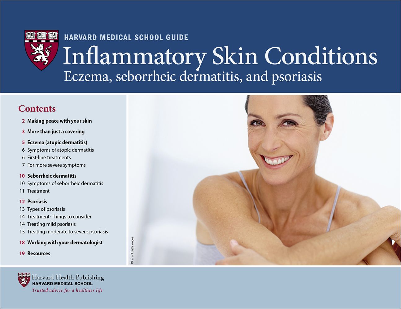 Inflammatory Skin Conditions: Eczema, seborrheic dermatitis, and psoriasis Cover