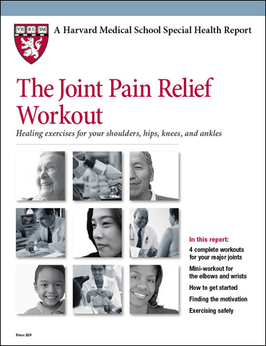 The Joint Pain Relief Workout: Healing exercises for your shoulders, hips, knees, and ankles Cover
