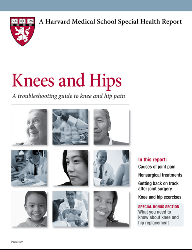 Knees and Hips: A troubleshooting guide to knee and hip pain Cover