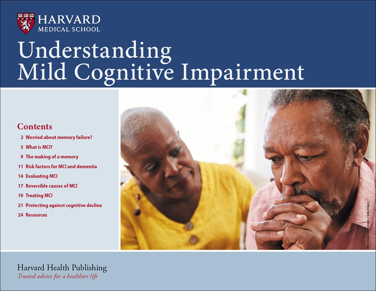 Understanding Mild Cognitive Impairment Cover