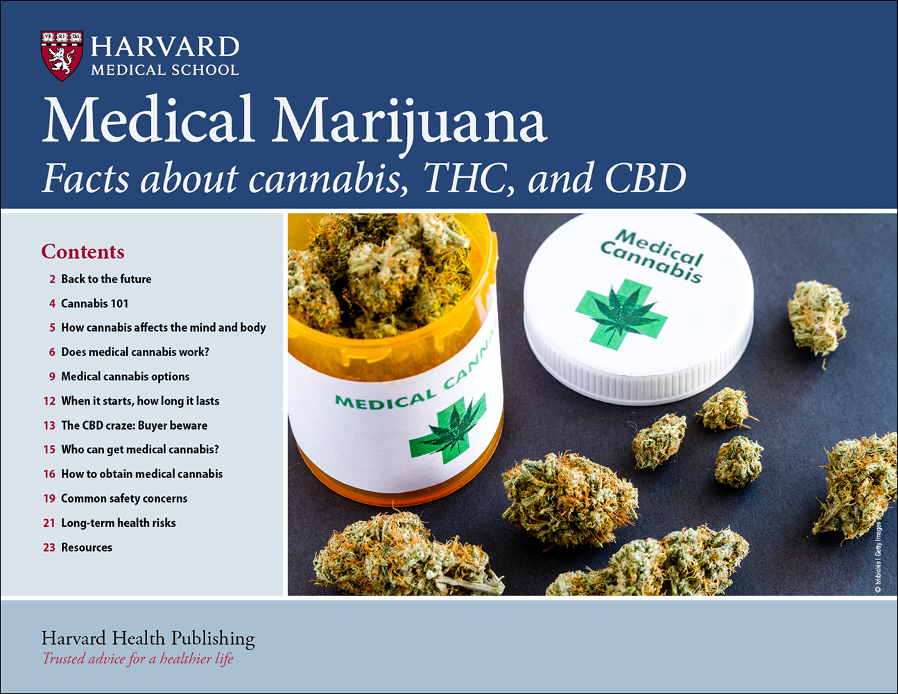 Medical Marijuana: Facts about cannabis, THC, and CBD Cover