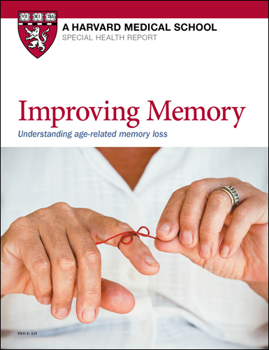 Improving Memory: Understanding age-related memory loss Cover