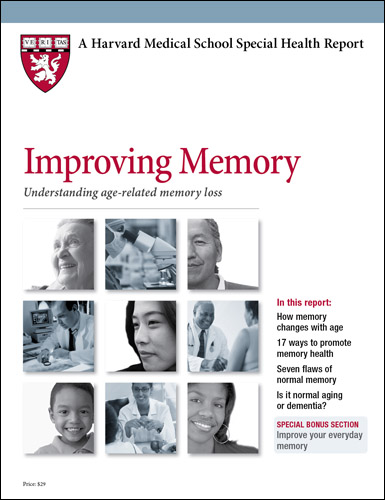 Improving Memory: Understanding age-related memory loss