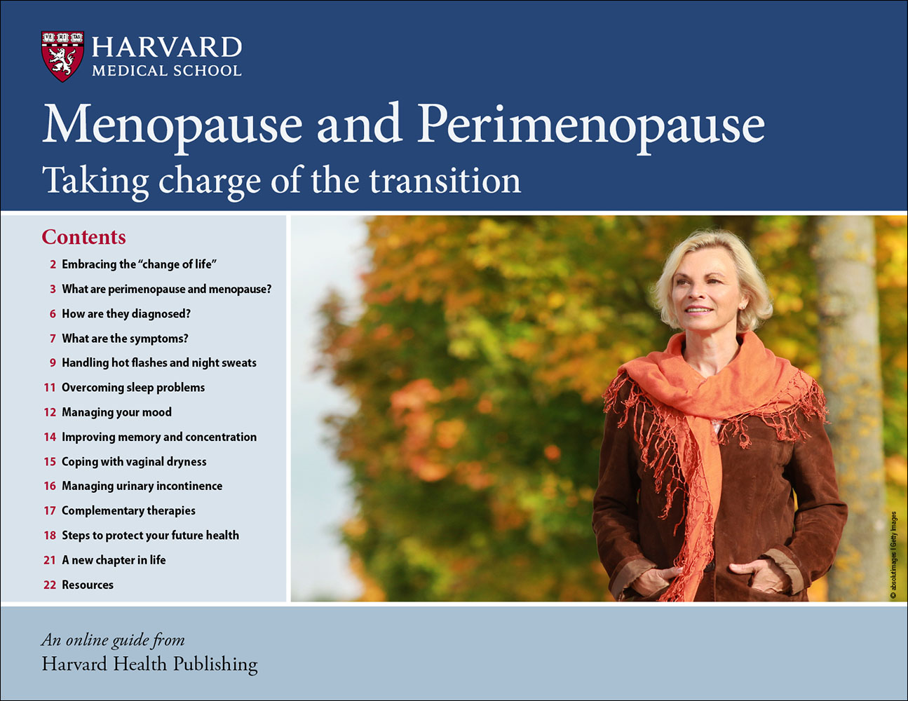Menopause and Perimenopause: Taking charge of the transition Cover