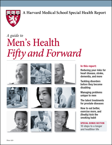 A Guide to Men's Health Fifty and Forward Cover