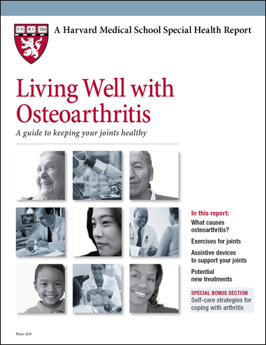 Living Well with Osteoarthritis: A guide to keeping your joints healthy Cover