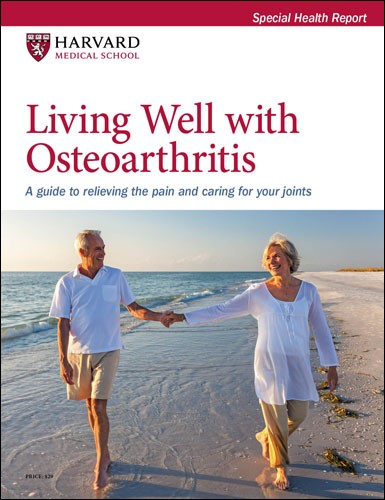 Living Well with Osteoarthritis: A guide to relieving the pain and caring for your joints Cover
