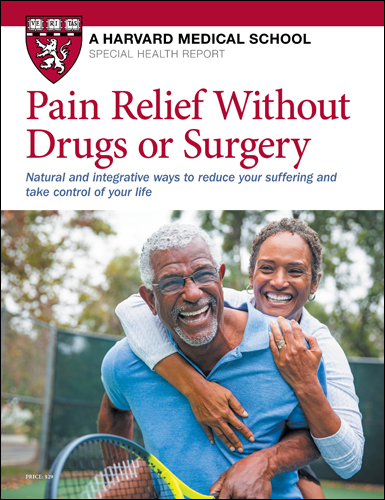 Pain Relief Without Drugs or Surgery Cover