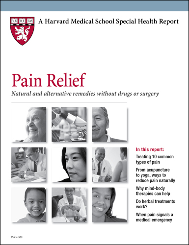 Pain Relief: Natural and alternative remedies without drugs or surgery Cover